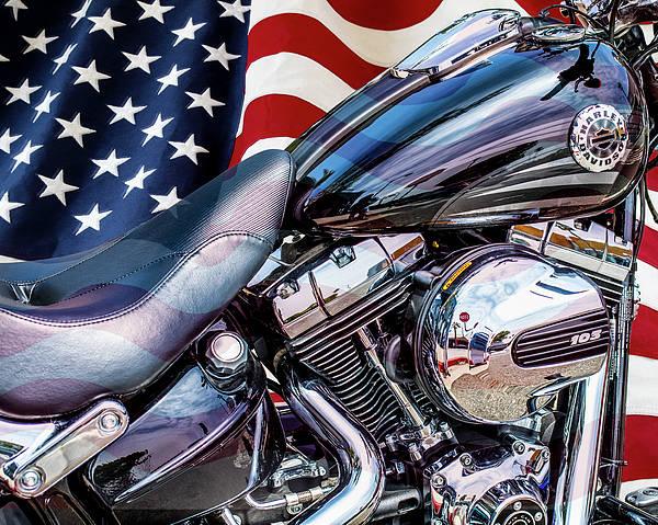Wall Art - Photograph - Harley-davidson 103 - B by Gene Parks