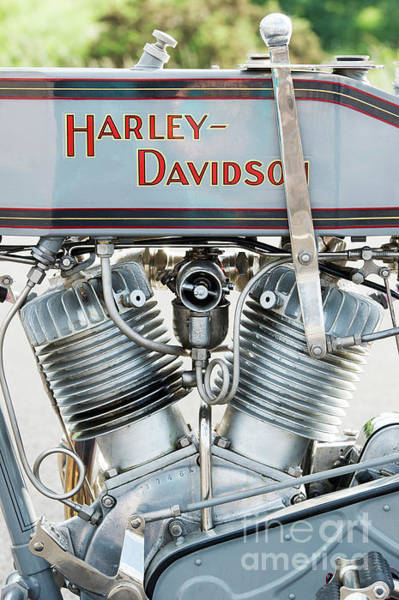 Photograph - Harley Davidson 11f by Tim Gainey