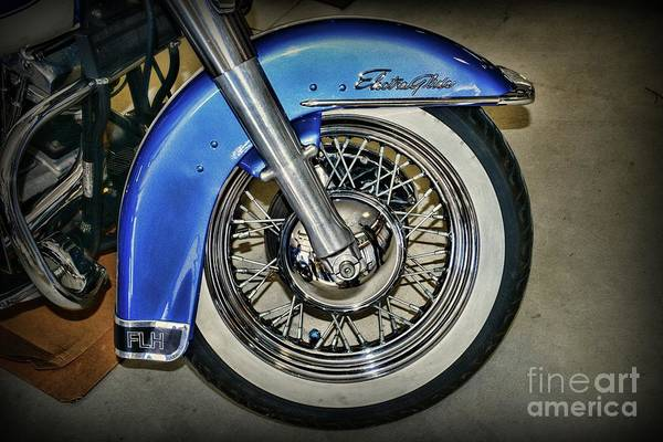 Steed Photograph - Harley Davidson Flh Electra Guide by Paul Ward