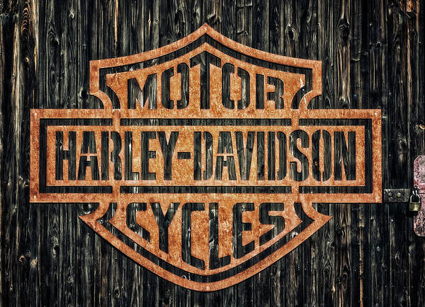 Wall Art - Photograph - Harley - Davidson by Tama66