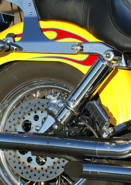 Photograph - Harley-davidson Twin Cam 88 Rear Wheel by Jill Reger