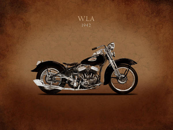 Hydra Wall Art - Photograph - Harley-davidson Wla1942 by Mark Rogan
