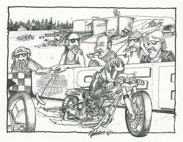 Drag Racing Drawings