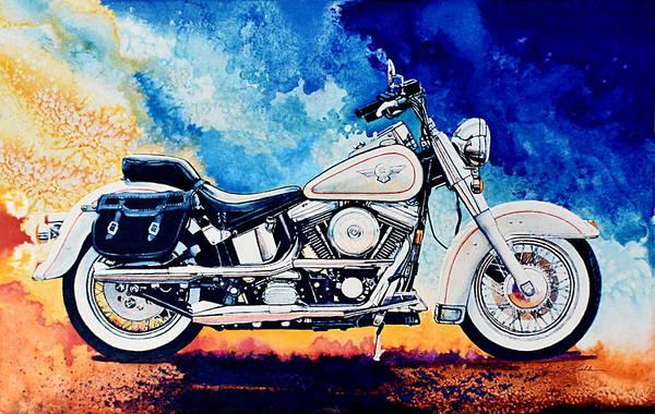 Wall Art - Painting - Harley Hog II by Hanne Lore Koehler