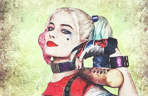 Suicide Digital Art - Harley Is A Crazy Woman by Anton Kalinichev