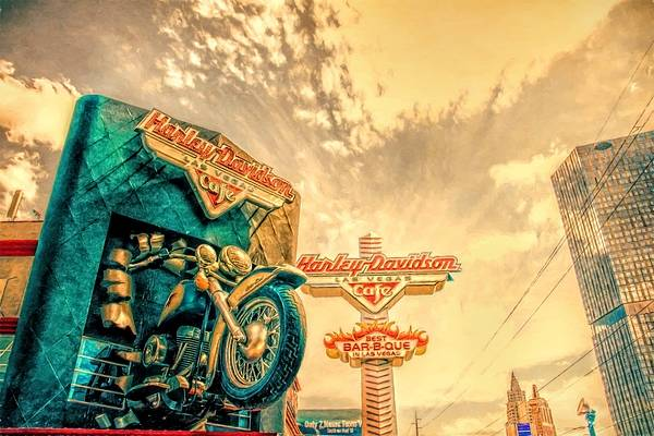 Wall Art - Photograph - Harley Kind Of Day by Alice Gipson