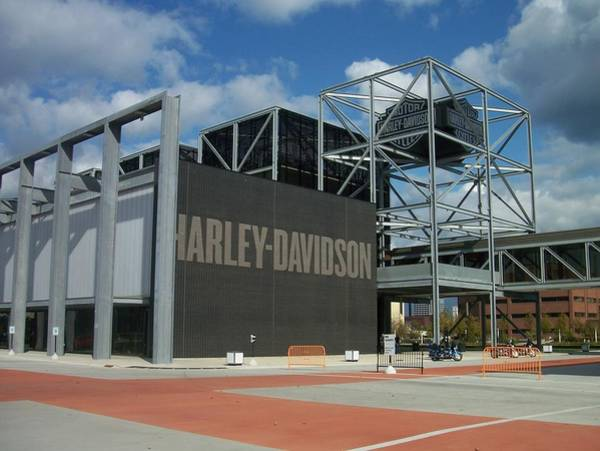 Photograph - Harley Museum  by Anita Burgermeister