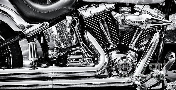 Wall Art - Photograph - Harley Panoramic by Tim Gainey