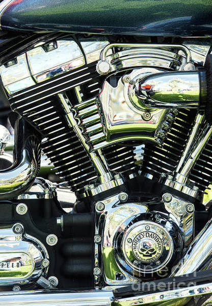 Wall Art - Photograph - Harley Power by Tim Gainey