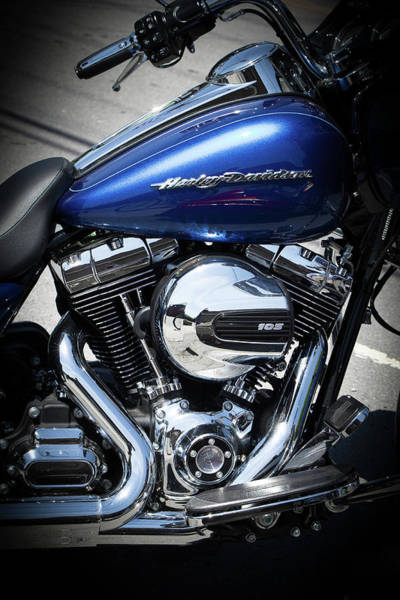 Photograph - Harley Twin-cam 103 V-twin by David Patterson