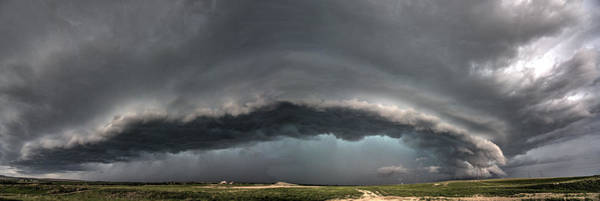 Photograph - Harlowton, Montana, Supercell by Dave Rennie