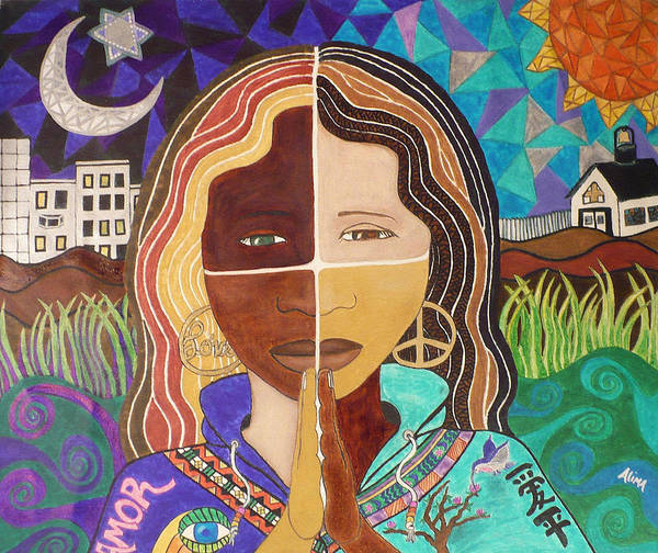 Diversity Wall Art - Painting - Harmony by Alima Newton