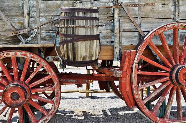 Photograph - Harmony Borax Works Wheel by Kyle Hanson