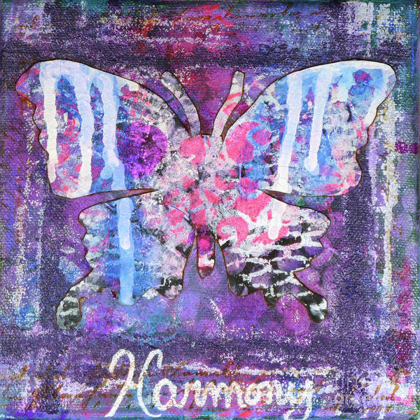 Painting - Harmony Butterfly by Lisa Crisman