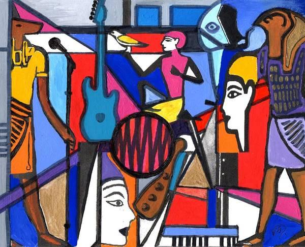 Painting - Harmony by Joe Dagher
