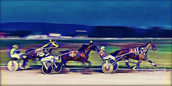 Photograph - Harness Race #3 by Tatiana Travelways
