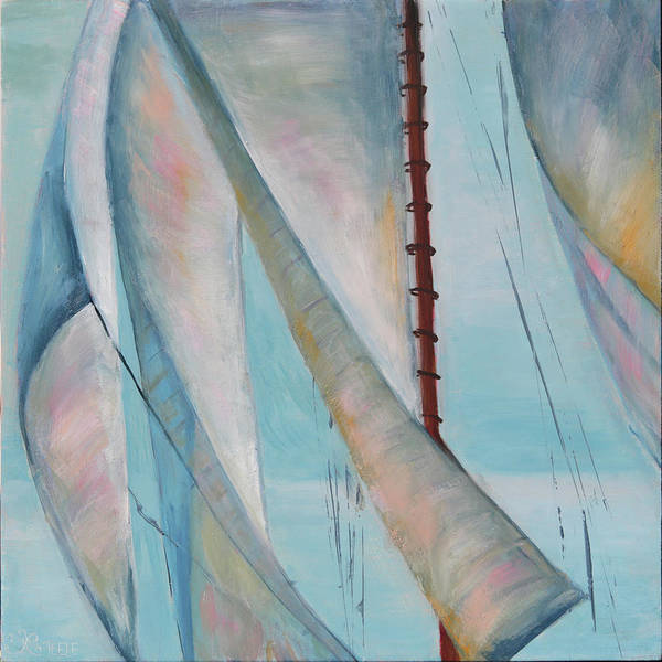 Painting - Harnessed Breeze by Trina Teele