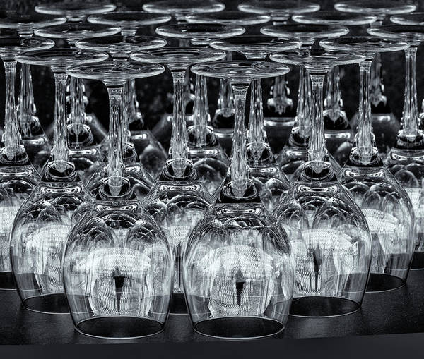 Photograph - Harpa Glasses by Tom Singleton