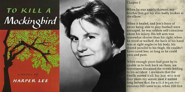 Harper Lee Wall Art - Photograph - Harper Lee And To Kill A Mockingbird Montage by John Malone