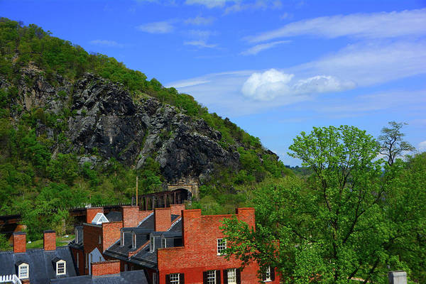 Photograph - Harpers Ferry From The Appalachian Trail by Raymond Salani III