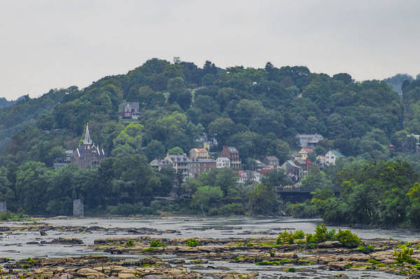 Wall Art - Photograph - Harpers Ferry From The Potomac River by Bill Cannon