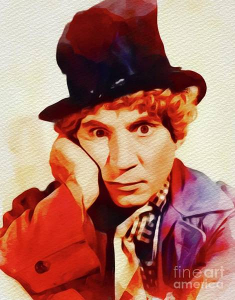 Brothers Painting - Harpo Marx, Hollywood Legend by John Springfield