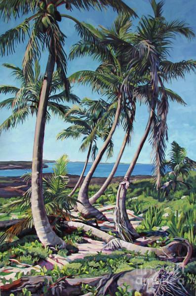Harpster Island Art Print