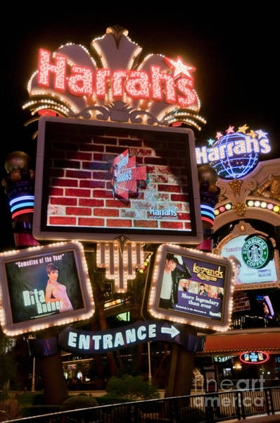 Harrahs Photograph - Harrahs by Andy Smy