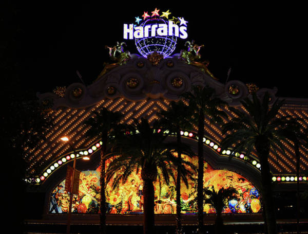 Harrahs Photograph - Harrahs Las Vegas by David Lee Thompson