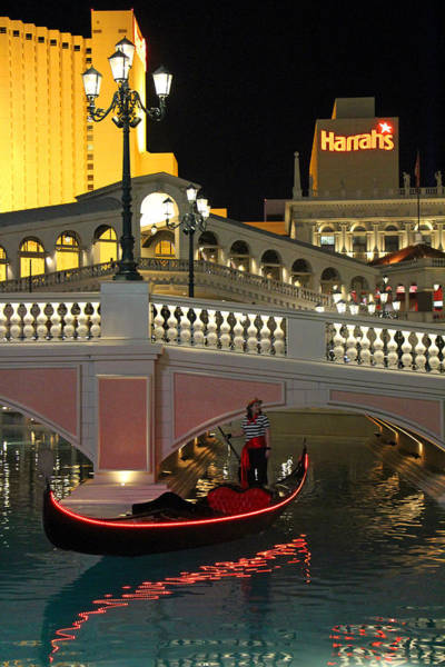 Harrahs Photograph - Harrahs by Munir Alawi