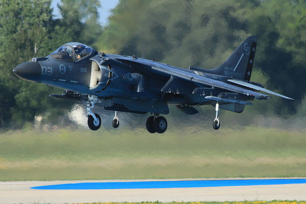 Av-8 Photograph - Harrier  by Aircraft  In Motion