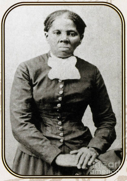 Heroine Photograph - Harriet Tubman, American Abolitionist by Photo Researchers