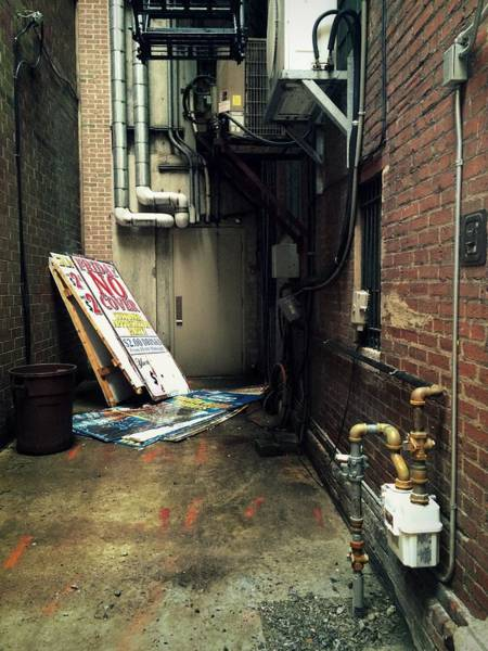 Wall Art - Photograph - Harrisburg Alley by Joseph Skompski