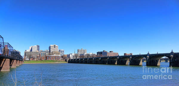 Photograph - Harrisburg Skyline by Olivier Le Queinec
