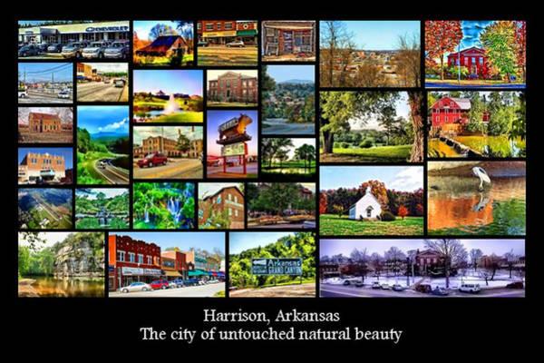 Digital Art - Harrison Arkansas by Kathy Tarochione