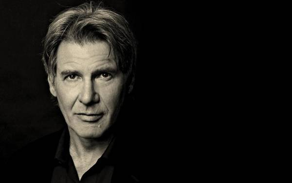 Photograph - Harrison Ford Portrait 1080 by Movie Poster Prints