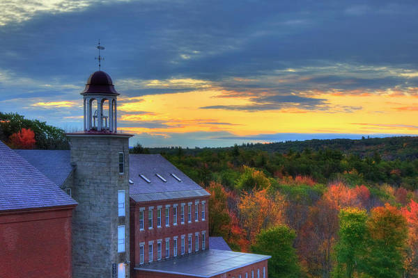 Textile Mill Photograph - Harrisville Nh Mills by Joann Vitali