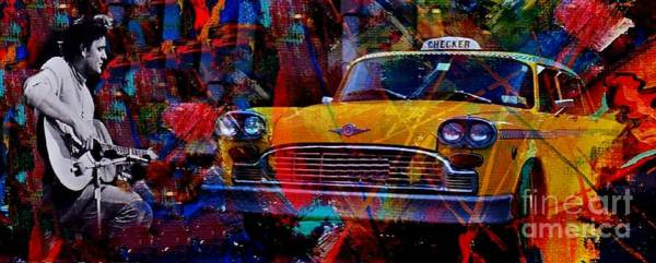 Wall Art - Painting - Harry Chapin Taxi Poster by John Malone