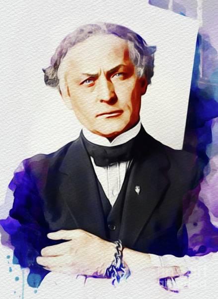 Wall Art - Painting - Harry Houdini by John Springfield
