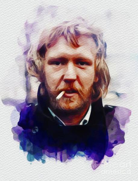 Wall Art - Painting - Harry Nilsson, Music Legend by John Springfield