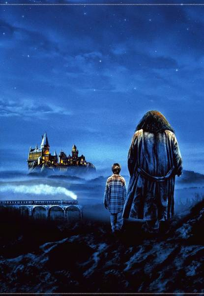 Television Digital Art - Harry Potter And The Sorcerer's Stone 2001  by Geek N Rock