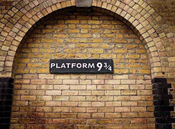 Photograph - Harry Potter Train 9-3/4 by Doc Braham