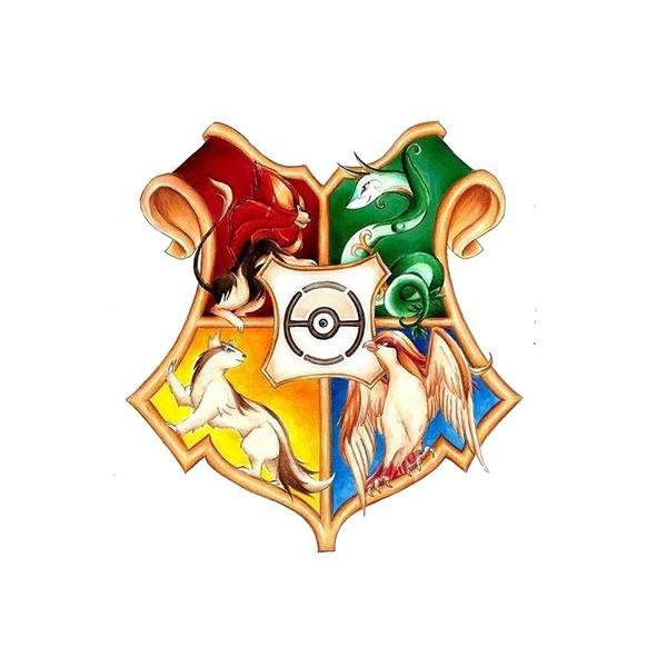 Pokemon Drawing - Harry Potter Pokemon by Rosie Jasmine
