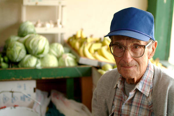 Strawberry Hills Wall Art - Photograph - Harry The Produce Man by Don Wolf