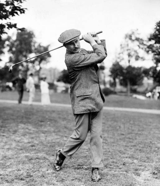 Harry Vardon - Golfer Art Print