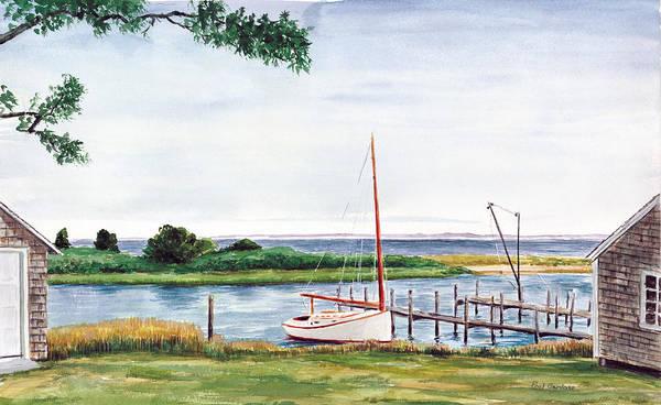 Oak Harbor Painting - Hart Haven by Paul Gardner
