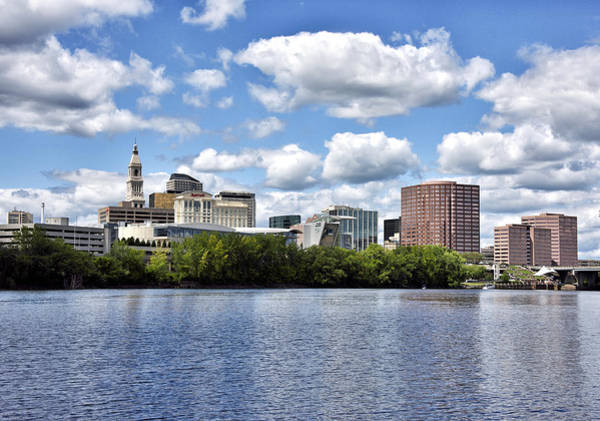 Wall Art - Photograph - Hartford Connecticut - Skyline by Brendan Reals