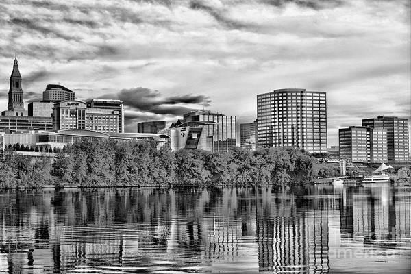 Jasmin Photograph - Hartford Connecticut - Skyline by Jasmin Hrnjic