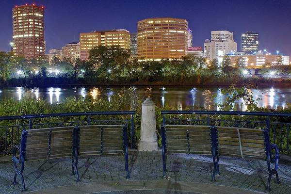 Conn Wall Art - Photograph - Hartford From The Park by Frozen in Time Fine Art Photography