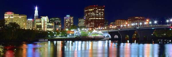 Conn Wall Art - Photograph - Hartford Panorama by Frozen in Time Fine Art Photography